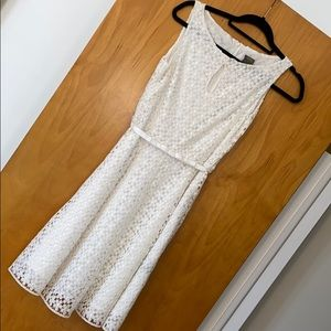 Off white Taylor Dress